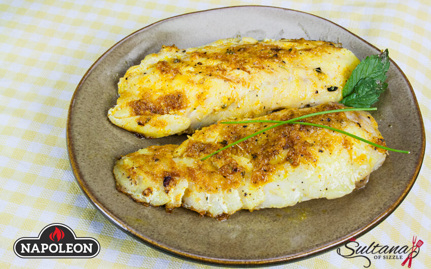 Grilled Haddock With Spicy Rice Recipe | Napoleon