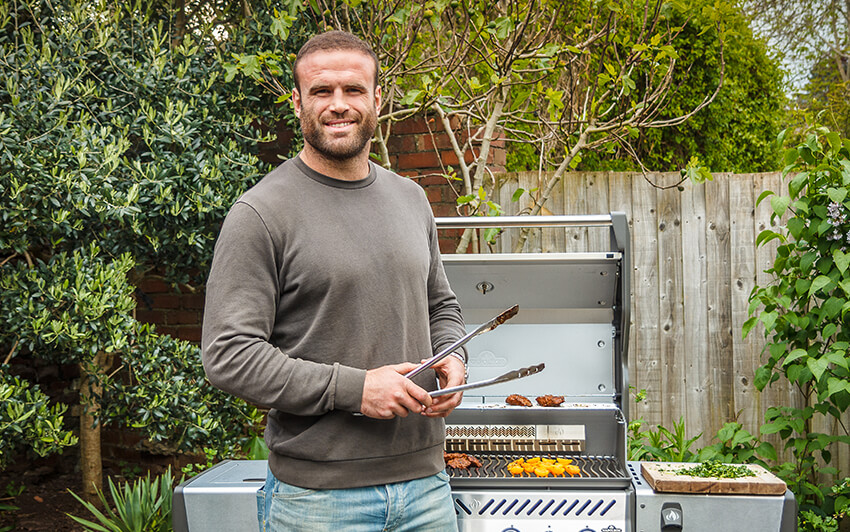 Jamie Roberts Grill Master