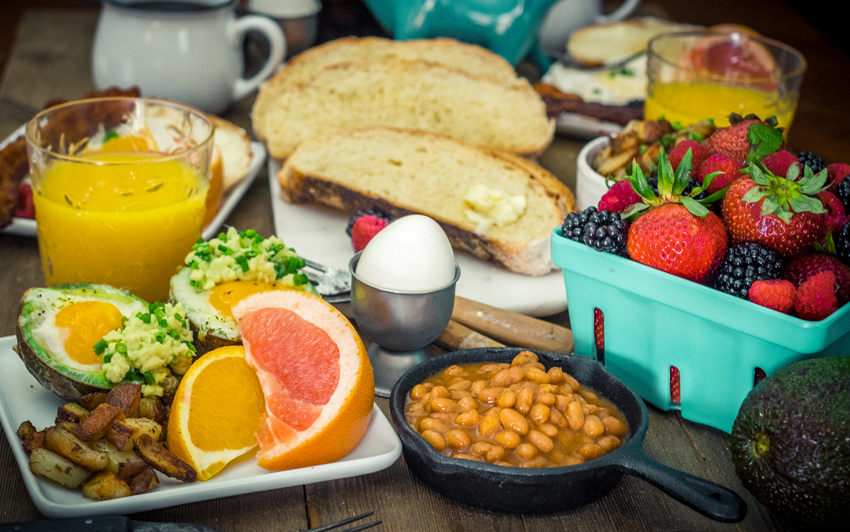 RecipeBlog - BBQ Breakfast - Wakeup call