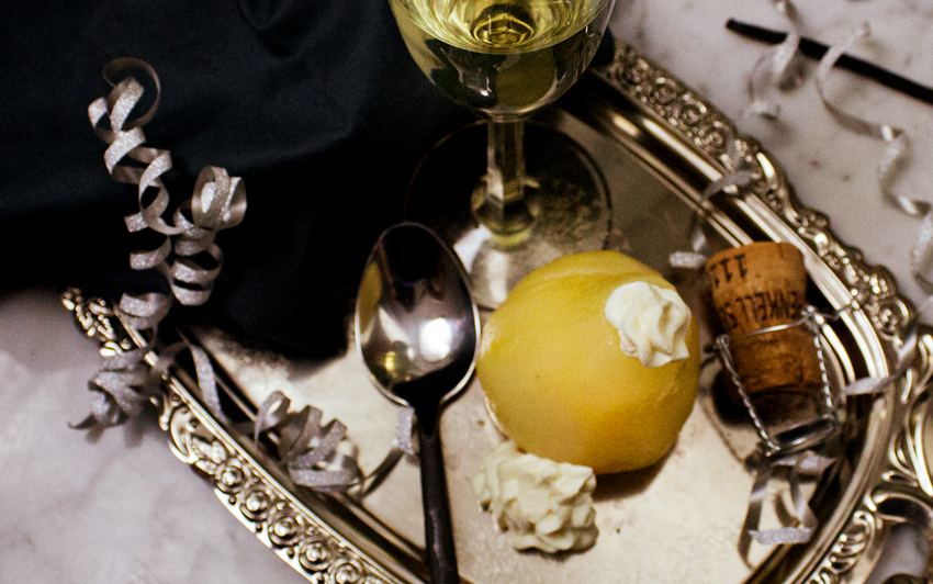 Recipe Blog - Champagne Pears with Cheesecake - serve4