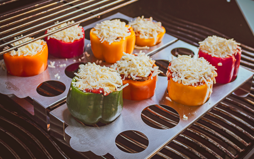 Recipe Blog - Lasagna Stuffed Peppers - grill1