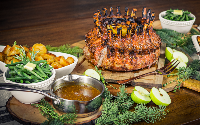 recipe Blog - Crown Roast Pork - serve1
