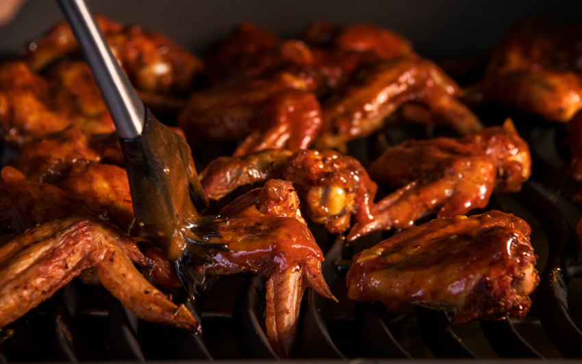 RecipeBlog-HDRogue-Bourbon Smoked Wings-baste