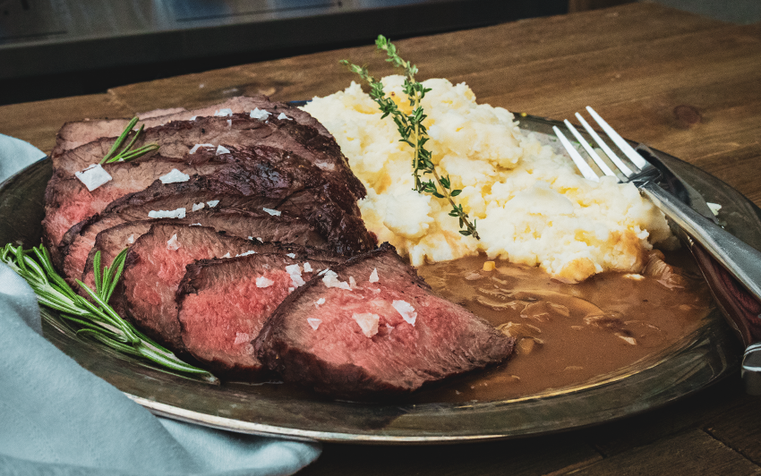 Recipe Blog - Wagyu Tri-Tip Roast - Serve