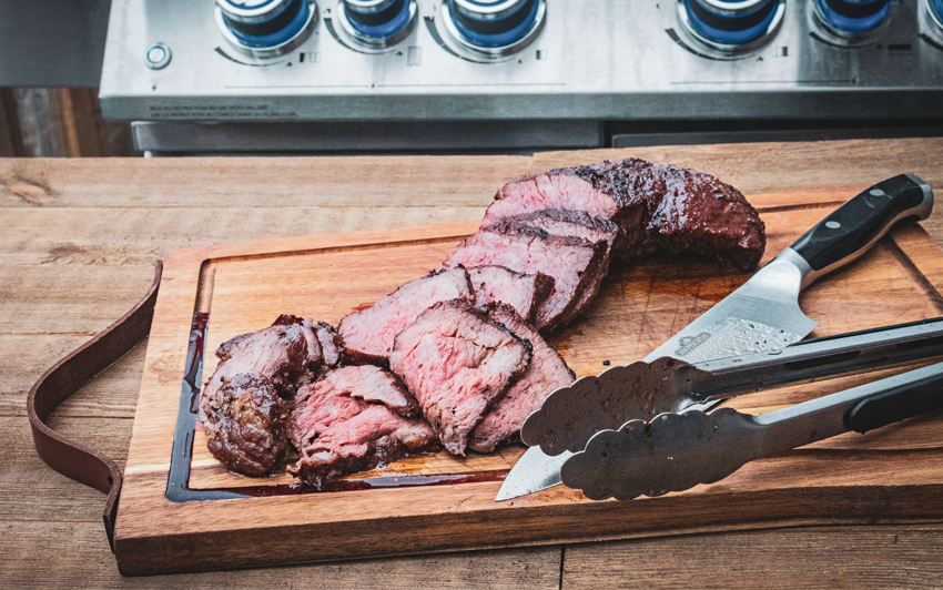 Recipe Blog - Wagyu Tri-Tip Roast - Slice