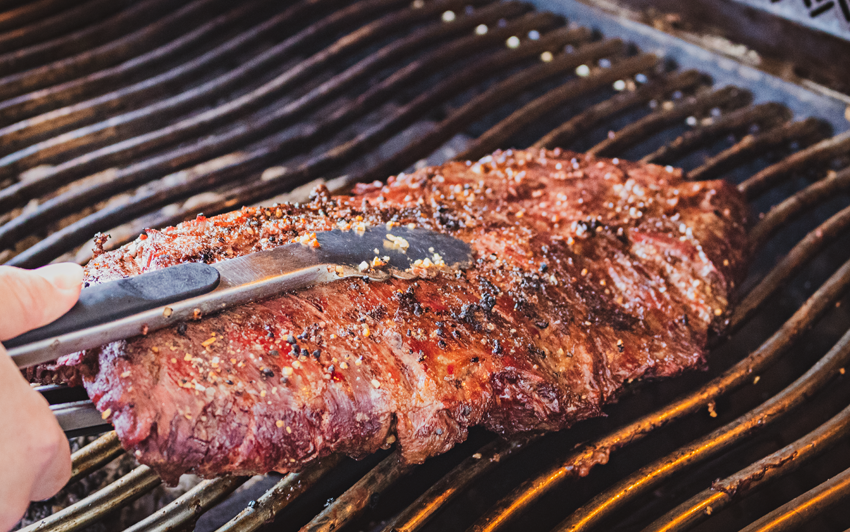 Recipe Blog - Wagyu Bavette - Grill