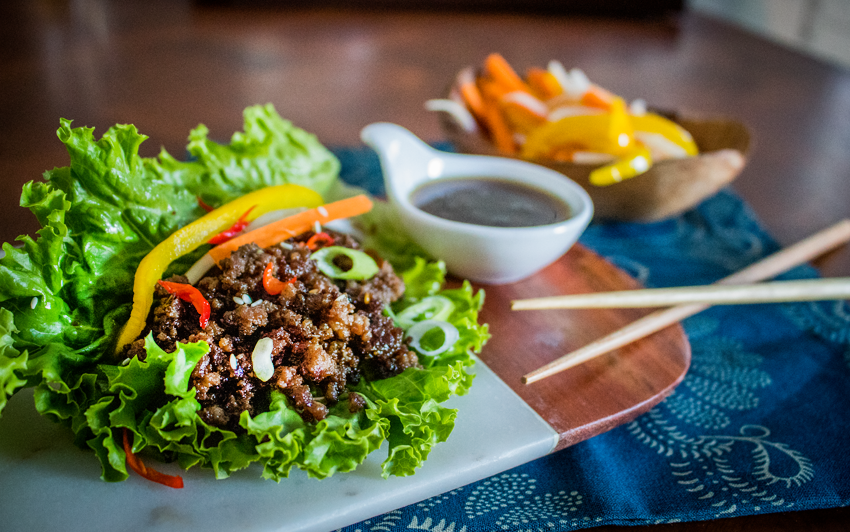 Recipe Blog - Wagyu Lettuce Wraps - Serve1
