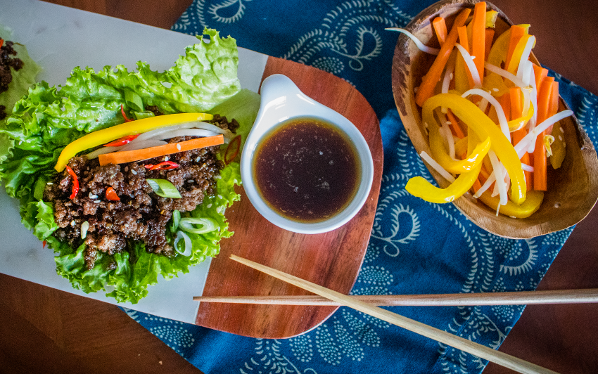 Recipe Blog - Wagyu Lettuce Wraps - Serve2