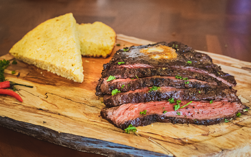 Recipe Blog - Wagyu Bavette - Serve