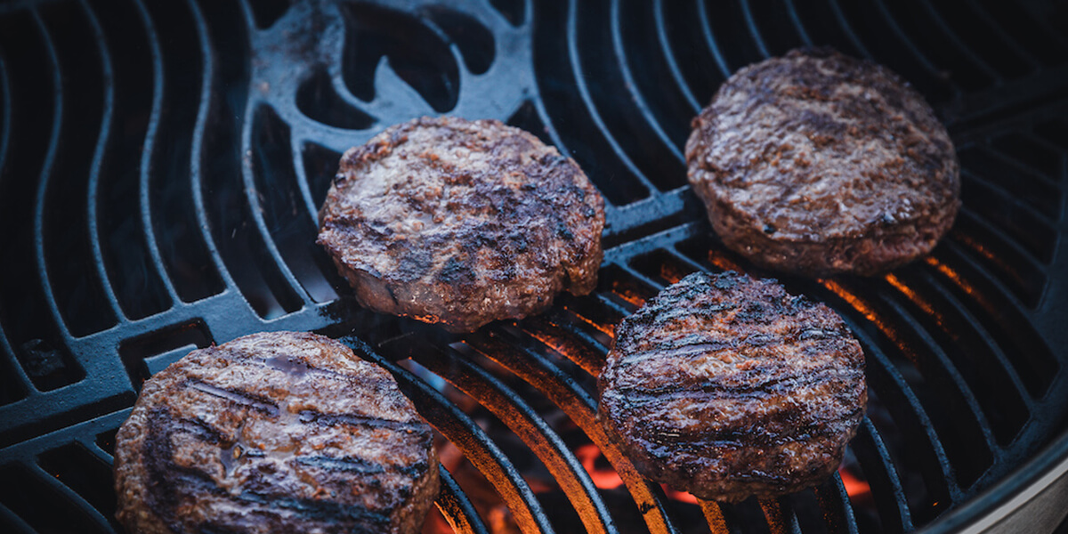 How To Make Classic Hamburgers On A Charcoal Grill