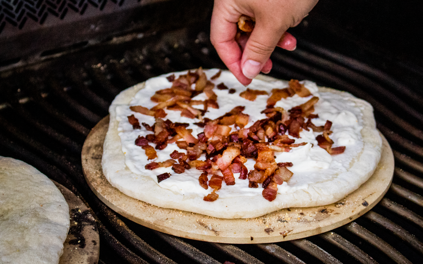 Recipe Blog - bacon - Flammekueche