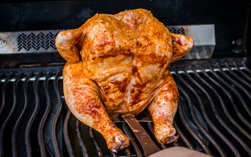Recipe Blog - Memphis Style Beer Can Chicken - Grill1