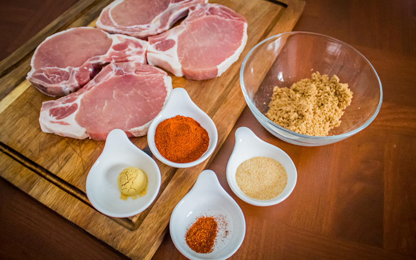 Recipe Blog - Brined Pork Chops - seasoning1