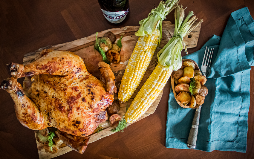Recipe Blog - Memphis Style Beer Can Chicken - Serve1