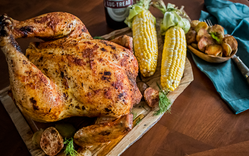 Recipe Blog - Memphis Style Beer Can Chicken - Serve2