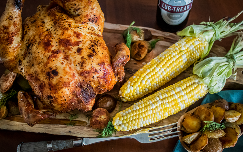 Recipe Blog - Memphis Style Beer Can Chicken - Serve3