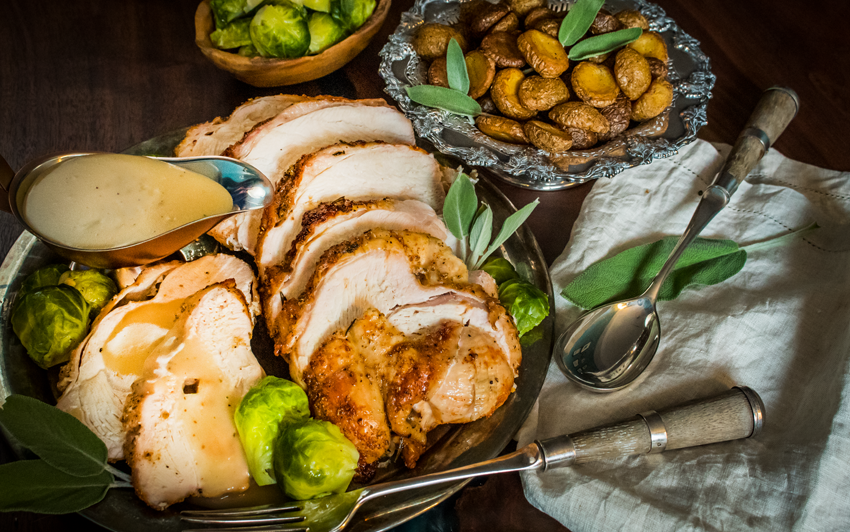 Recipe Blog - Rotisserie Turkey & Potatoes - Serve2