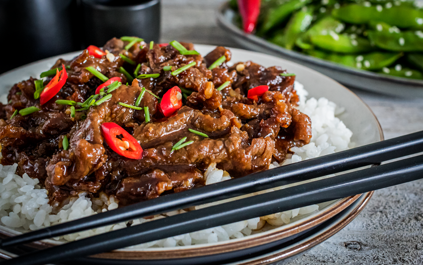 Recipe Blog - Easy Mongolian Beef - serve3