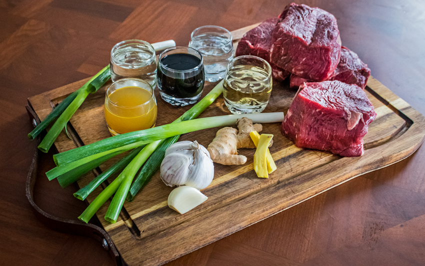Recipe Blog - Yakiniku Steak Recipe - Ingredients