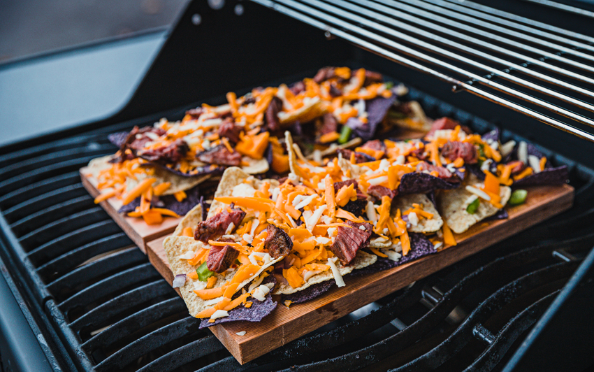 Recipe Blog - Planked Nachos - grill1