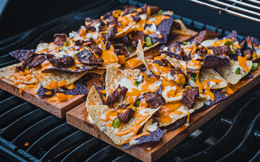 Recipe Blog - Planked Nachos - grill2