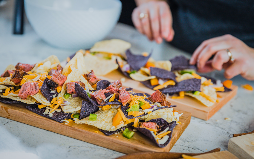 Recipe Blog - Planked Nachos - prepare1