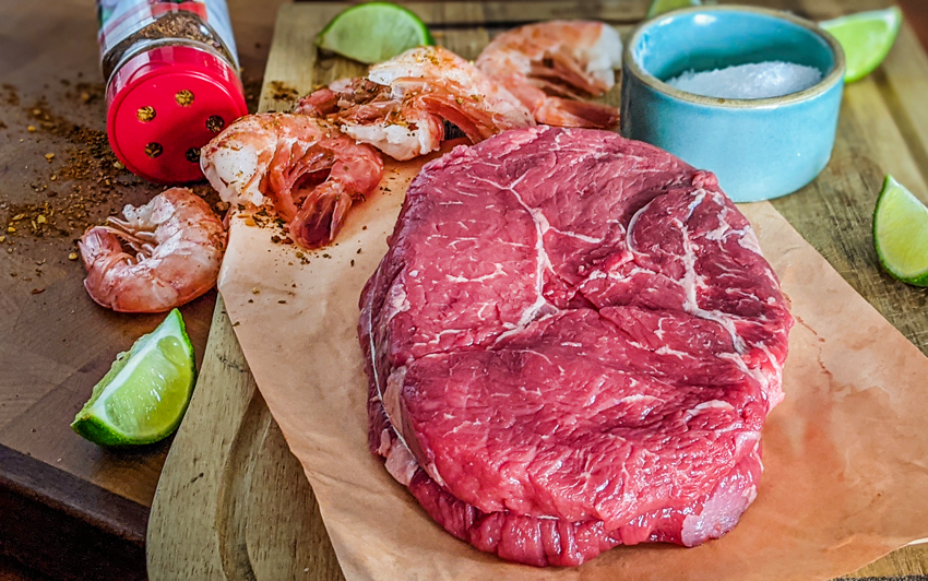 Recipe Blog - Surf N Turf - Ingredients