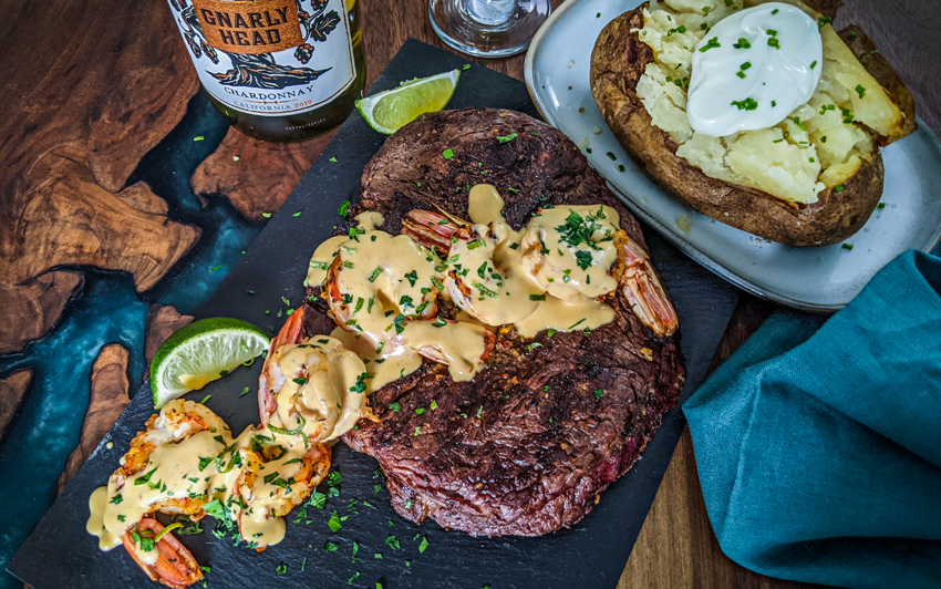 Recipe Blog - Surf N Turf - Serve3