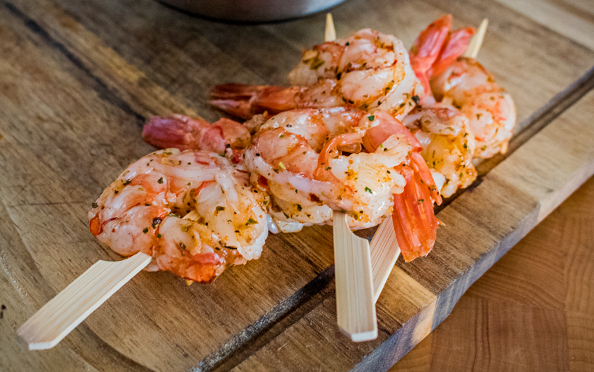 Recipe Blog - Surf N Turf - Skewer