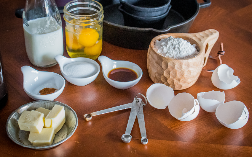 Recipe Blog - Dutch Baby - ingredients