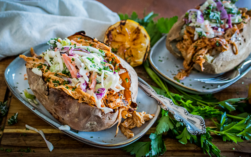 Recipe Blog - BBQ Chicken Baked Potato - serve1