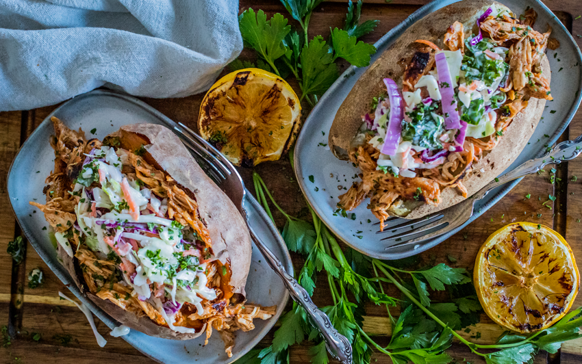 Recipe Blog - BBQ Chicken Baked Potato - serve3