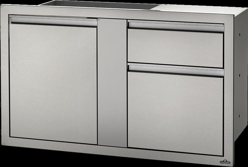 Outdoorküche Tür Reinigen : Große tür & abfallschublade 107 cm x 61 cm bi 4224 1d1w napoleon