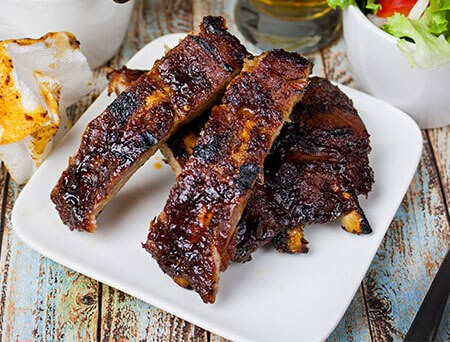 Maple Bourbon Rib
