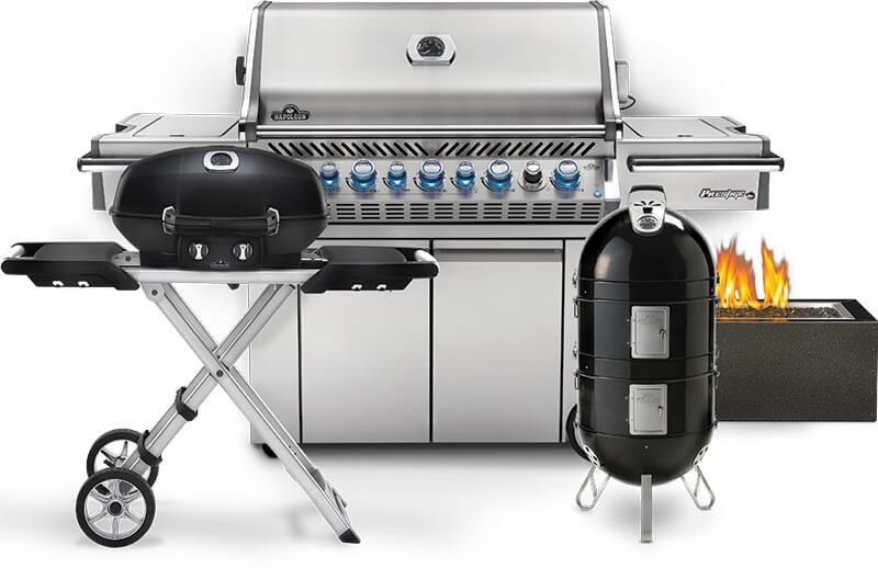 large outdoor grill