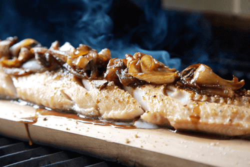 Blog - How To BBQ Fish - Planked Black Cod