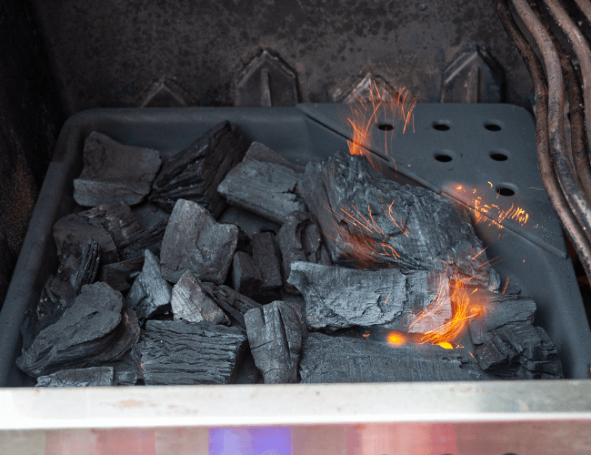 How to use the Napoleon Charcoal Tray