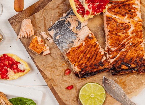 Blog - How To BBQ Fish - Salmon With Skin