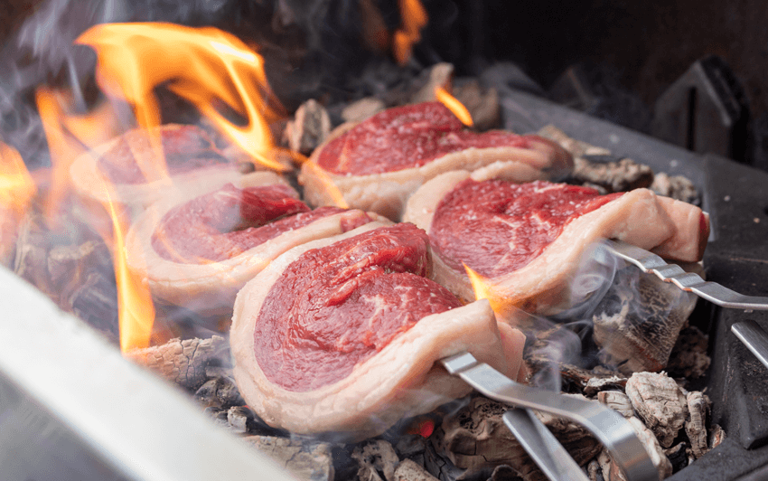 Picanha, Brazilian Style Steak - Grill directly on the coals