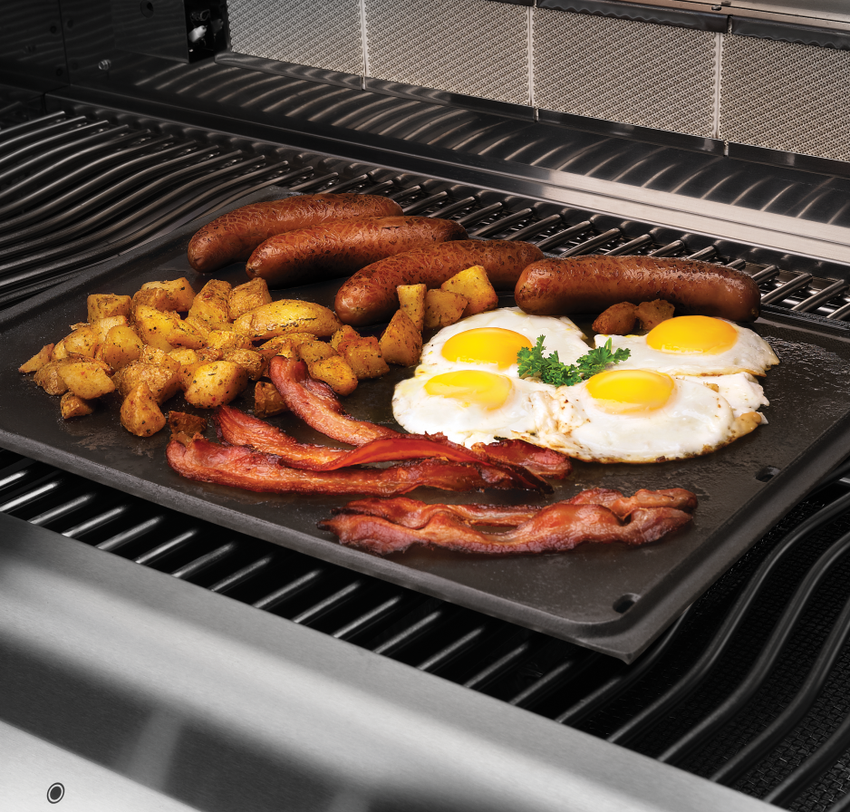 Cast Iron Griddle In-use