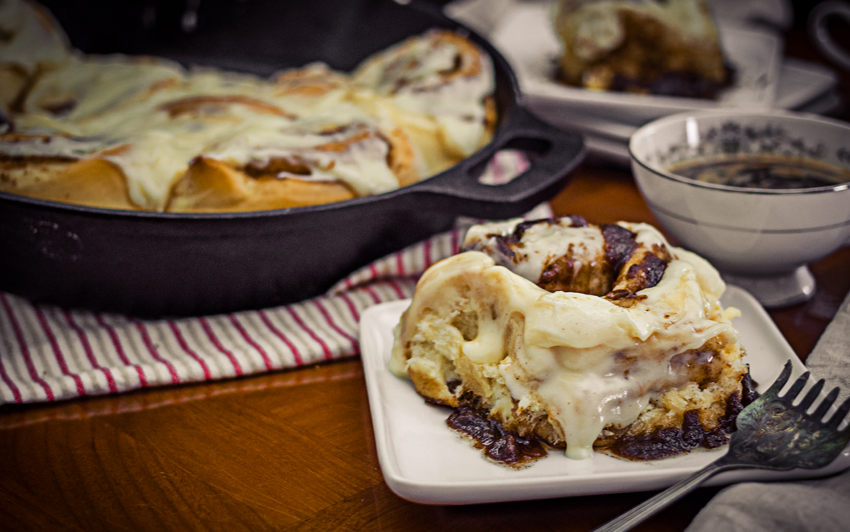 RecipeBlog - Cinnamon Buns - serve