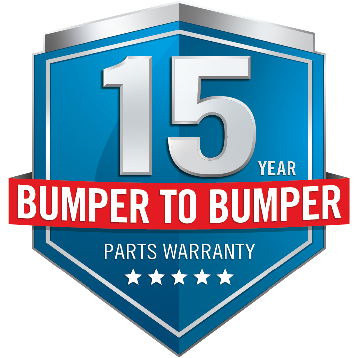 15 Year Limited Warranty