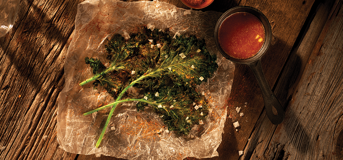 Feature - Kale Chips