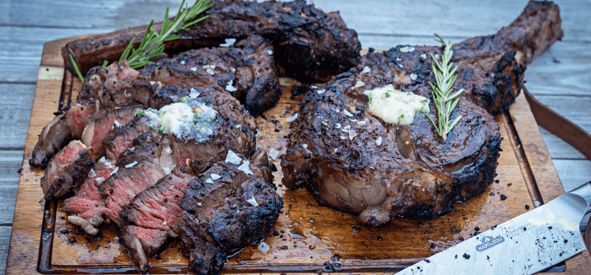 RecipeBlog - Feature - Smoked Tomahawk Steak