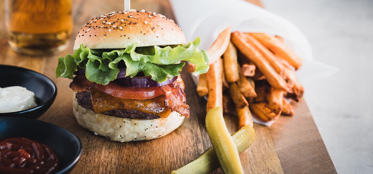 Recipe For Classic Hamburgers Over Charcoal