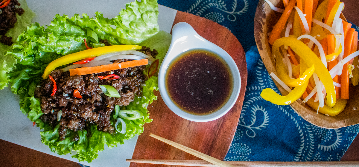 Recipe Blog - Feature - Wagyu Lettuce Wraps