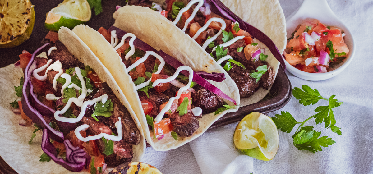 Recipe Blog - Feature - Wagyu Skirt Steak Tacos