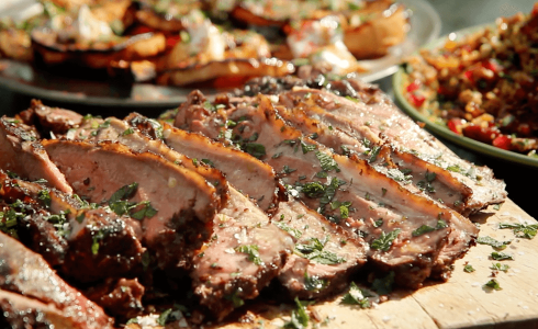 Spicy Lamb Feast Recipe - Gen Taylor Video Recipe