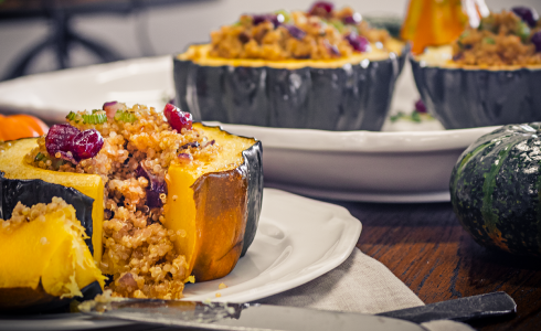 RecipeBlog - Feature - Vegan Stuffed Squash