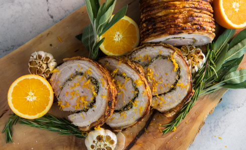Recipe Blog - Feature - HD Recipes - Rotisserie Porchetta